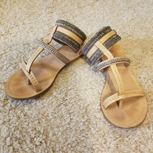 CUTE Jasper & Jeera sandals from Anthropologie!